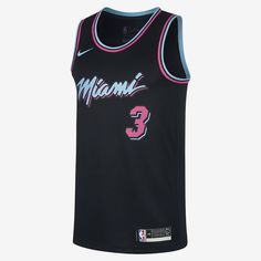 Dwyane Wade City Edition Swingman (Miami Heat) Men s Nike NBA Connected  Jersey Dwyane Wade 658d0d7b4