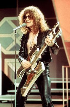 Ian Hunter of Mott the Hoople, who had a hit with All the Young Dudes in 1972