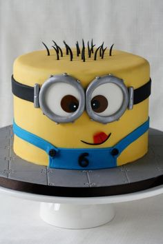 Minion Cake: fun to make – succes guaranteed!