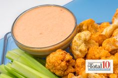 Total 10 Buffalo Dipping Sauce: Dip your favorite veggies in this healthy, creamy sauce.