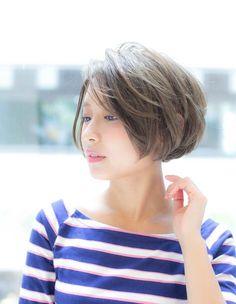 マリンショートボブ( MT-176) | ヘアカタログ・髪型・ヘアスタイル|AFLOAT(アフロート)表参道・銀座・名古屋の美容室・美容院