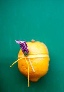 Even better when it's a Meyer lemon.