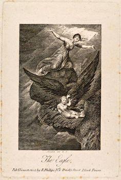 BLAKE, William (1757-1827) / The Eagle / 1805 / engraving