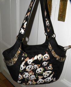Susanne Rodian's Panda-motif Quattro   June 2012 Handbag of the Month | Studio Kat Designs