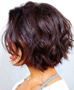 Dark Short Layers - The Most Popular Short Hairstyles on Pinterest - Photos