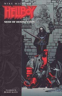 Hellboy: Seed of Destruction - Mike Mignola - Dark Horse Books - 1st Print 1994 - preço: € 30 + envio