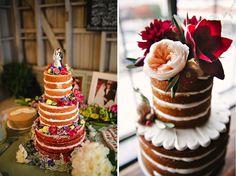 Modelos de bolos para diferentes estilos de casamento
