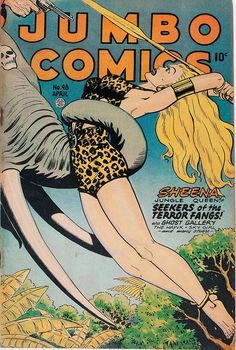 "Jumbo Comics # 98 ""Sheena jungle Queen"""