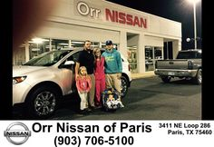 https://flic.kr/p/Nb8p3W | Happy Anniversary to Melanie on your #Ford #Edge from Nick Jones at Orr Nissan of Paris! | deliverymaxx.com/DealerReviews.aspx?DealerCode=J476
