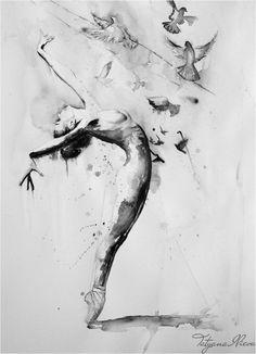 -Fly in sky of birds.