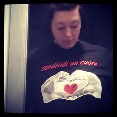 Condividi un #cuore! #tshirt #tee #love #saettastyle #abbigliamento