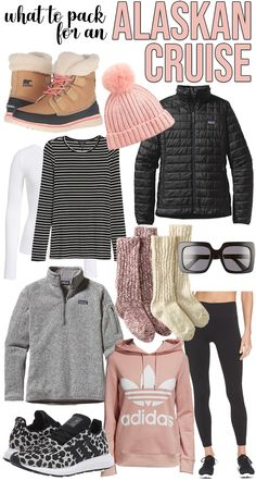Summer Cruise Outfits, Travel Outfit Summer, Cruise Wear, Vacation Outfits, Fall Outfits, Packing For Alaska, Packing For A Cruise, Alaska Travel, Cruise Travel
