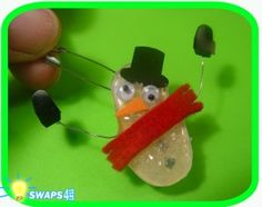 Melted Snowman Scout SWAPS Girl Craft Kit-Swaps4Less