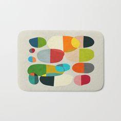 Jagged little pills Bath Mat by Picomodi | Society6