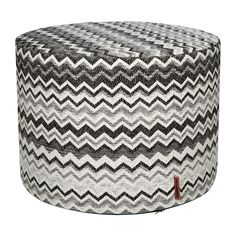 Buy Missoni Home Wipptal Pouf - 601 - 40x30cm | Amara