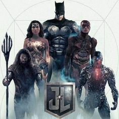 Justice League Movie Poster 2017 Featuring Aquaman, Wonder Woman, Batman, Flash and Cyborg, Check Out 19 Easter Eggs and Missed Details From Justice League Movie - DigitalEntertainmentReview.com