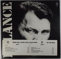 Jack Palance PALANCE Warner Bros. Records LP NM WLP #CountryPop