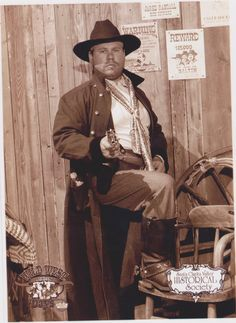 """My son Eric as """"Fremont""""....for the 2012 Wild West Days for the Santa Clarita Valley Historical Society......his entire outfit authentic for the time period and much all of the leather and gun holders and spurs made by Eric.....so cool!!!"""
