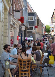 Bedford St Tea Party Tea Party, Street View, Summer, Summer Time, Tea Parties