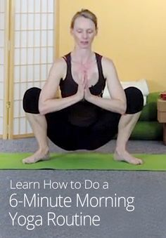 6-Minute Morning Yoga Routine