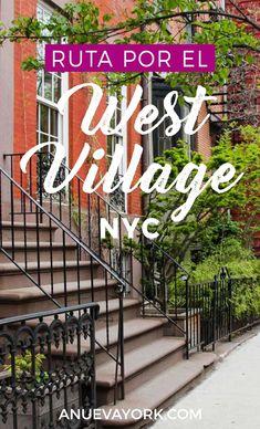 Qué ver en el West Village de #NuevaYork. Ruta paso a paso. West Village, New York City Guide, New York City Travel, Places To Travel, Places To Visit, Travel Destinations, Nyc Pics, Barbados Travel, Beautiful Places