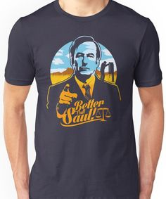 Better Call Saul Vector Illustration Shirts. Better Call Saul Shirts and T-Shirts found on Redbubble. and Design by Humans