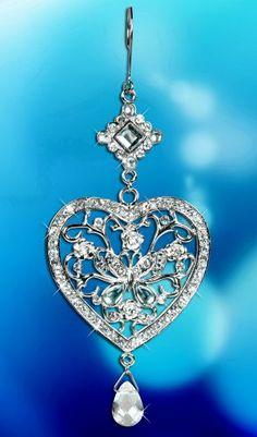 Love this Victorian Style Diamond Heart