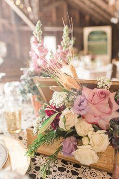 Antique Farm Wedding - Rustic Wedding Chic
