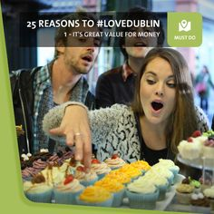 #1: It's Great Value For Money - If you're thinking about taking a trip to Dublin, here's some good news: it's never been better value. You'll be spoilt for choice when it comes to quality, affordable accommodation, food and drink, and getting around won't break the bank either. Dublin Travel, Never Been Better, Food And Drink, Things To Come, Money, News, Places, Silver, Lugares