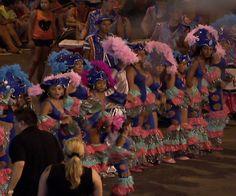 Fiesta color y diversión invadieron Puntarenas el fin de semana