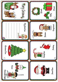Christmas Mini-book