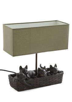 Cats a Good Idea Lamp - Multi, Cats, Best, Critters -- @quickiefitnikki Since I'm already becoming a cat lady, i guess this is the next step...