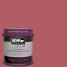 BEHR Premium Plus Ultra 1-gal. #bic-33 Cinnamon Candle Eggshell Enamel Interior Paint
