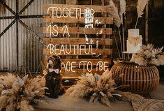 Elegant Wedding, Boho Wedding, Light Up Letters, Wedding Inspiration, Weddings, Pets, Poster, Animals, Beautiful