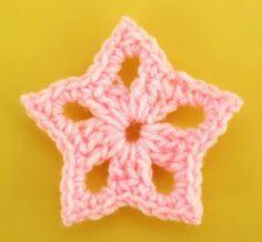 Awesome crocheted star -- fast and easy.