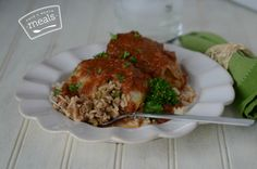 Cabbage Rolls (Freezer Meal)