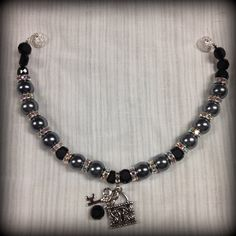 Items similar to Beaded Dog Collar Faux Black Pearl and Silver Pet Necklace Dog Necklace Cat Necklace Dog Collar Cat Collar Pet Jewelry XS on Etsy Dog Necklace, Collar Necklace, Beaded Necklace, Necklaces, Cat Jewelry, Animal Jewelry, Unique Jewelry, Beaded Dog Collar, Pet Accessories