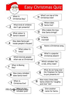 6 Best Images of Easy Christmas Trivia Printable - Free Printable Christmas Games Trivia and Answers, Christmas Trivia Questions for Adults and Easy Christmas Trivia Questions and Answers Christmas Trivia For Kids, Christmas Quiz And Answers, Christmas Trivia Questions, Trivia Questions And Answers, Printable Christmas Games, Christmas Worksheets, Christmas Activities, This Or That Questions, Christmas Jokes
