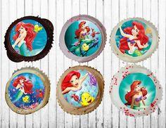 Disney Princesse 24 Cupcake Cœur Papier de Riz Toppers 4 cm d.i.y img D2 nouveau ***