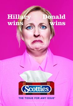 Scotties: Hillary wins - Donald wins | Ads of the World™