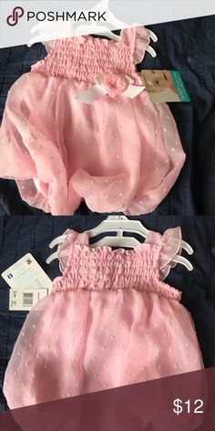 Baby Essentials 6 M Babygirl pink dress 6M  Brand new with tags Baby Essentials Dresses
