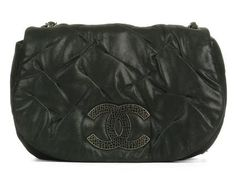 0b15c0e6f1c4 Chanel Black Messenger Bag -  2100. Ann s Fabulous Finds