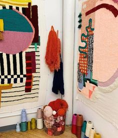 Textile Fiber Art, Textile Artists, Textile Tapestry, Textile Arts Center, Weaving Process, Arte Popular, Weaving Art, Soft Sculpture, Art Design