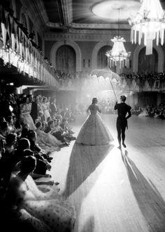 The ballroom dance