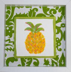 Pineapple Art by Lemondaisy Design