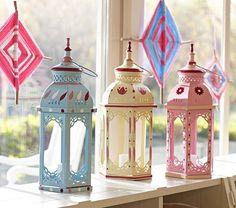 Hand Painted Lanterns - handgeschilderde lantaarns