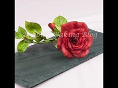 ▶ Learn How to Create A Gumpaste a Life Like Rose: From Bud to Fully Open Series 1 The Bud - YouTube
