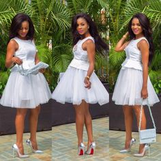 Fabulously & Fascinating Wedding Guests Styles That Will Make You the Best-Dress… - Frisuren Hochzeitsgast Lace Dress Styles, African Lace Dresses, African Wedding Dress, Latest African Fashion Dresses, African Print Fashion, Nice Dresses, African Clothes, Ghana, Robes Tutu