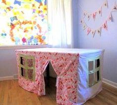 Manualidades para niños : Mantel casa