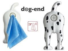 Off-Campus College Housewarming Gift:  Dog End Towel Holder @ Perpetual Kid
